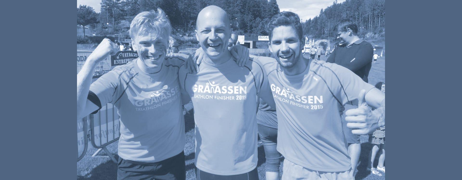 Happy Finishers - Gråtassen