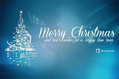 Tusen takk til dere alle! Et godt nytt spennende digitalt år ønskes fra Documaster