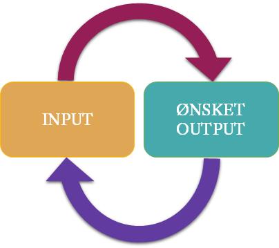 Input og ønsket output